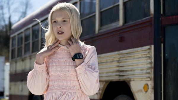 """Eleven (Millie Bobby Brown) aus der Netflix-Serie """"Stranger Things"""""""