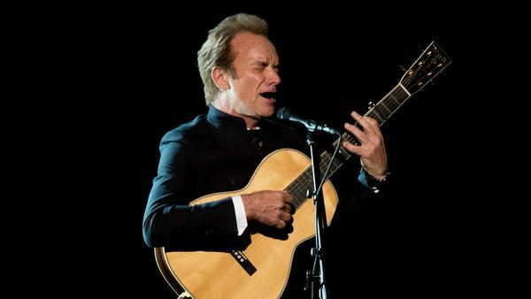 Im kommenden Jahr spielt Sting wieder in Deutschland