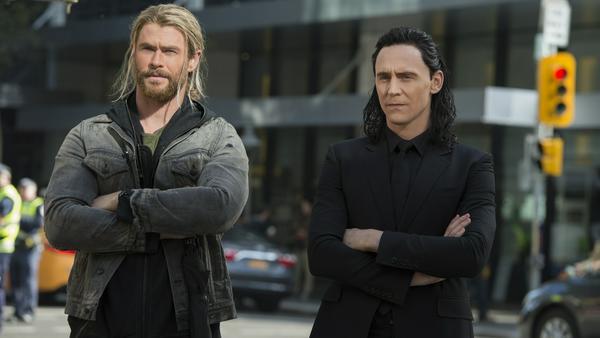 Thor muss sich einmal mehr mit Loki (Tom Hiddleston) herumschlagen