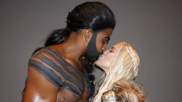 Als was Khloé Kardashian und Tristan Thompson verkleidet sind, ist nicht schwer zu erraten