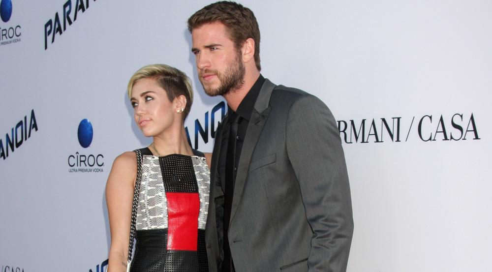 Miley Cyrus und Liam Hemsworth im Jahr 2013