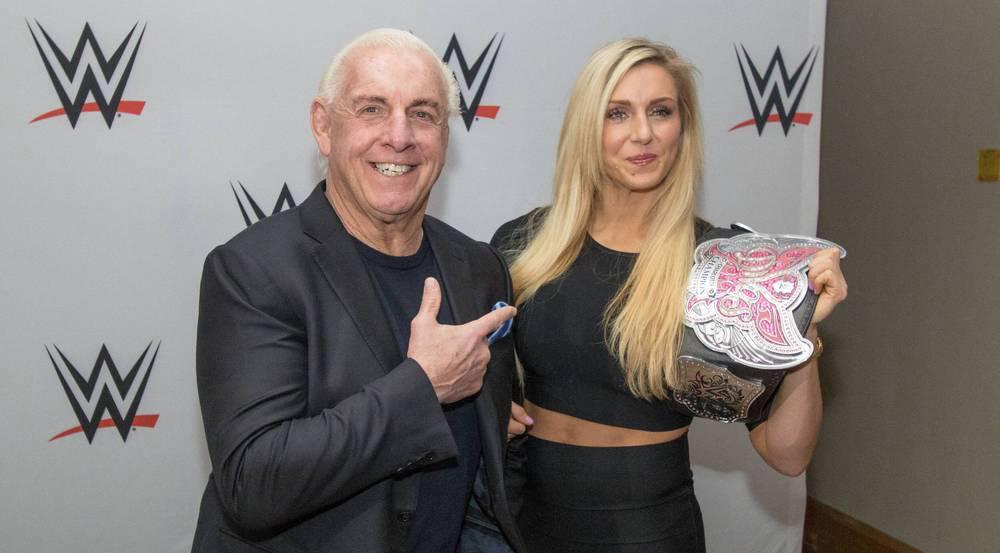 Zwei absolute Wrestling-Legenden: Charlotte und ihr Vater Rick Flair