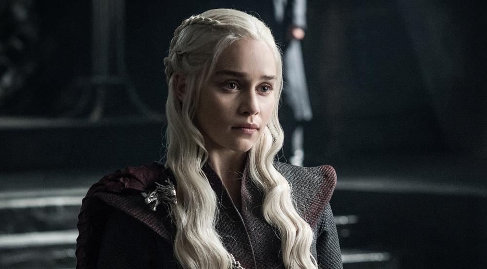 Emilia Clarke alias Daenerys Targaryen in Staffel sieben von