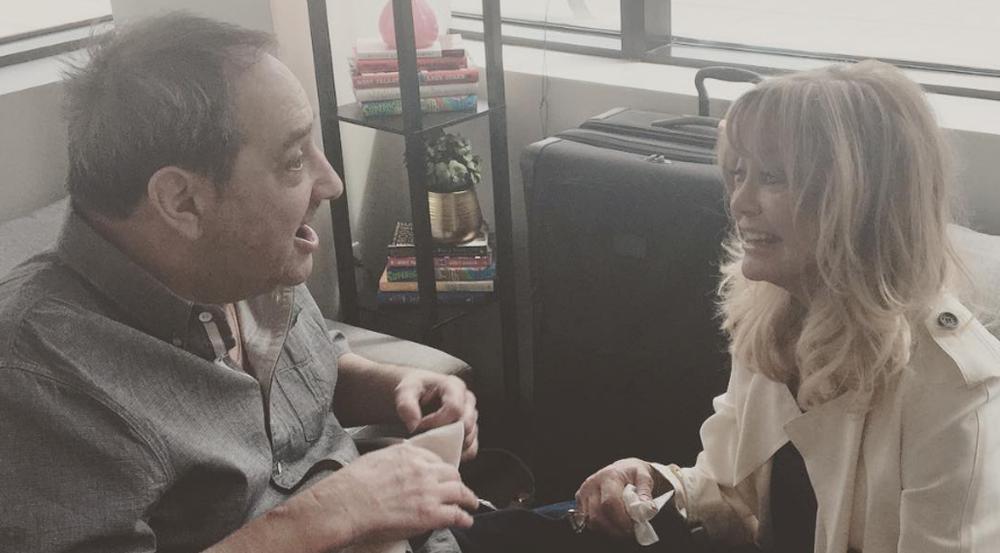 Der Vater von Amy Schumer kann sein Glück beim Treffen mit Goldie Hawn kaum glauben