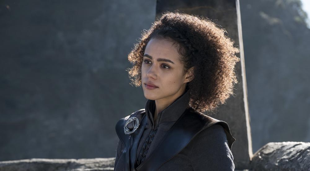 Auch bei den neuen Folgen wird Missandei (Nathalie Emmanuel) ihrer Königin Daenerys nicht von der Seite weichen