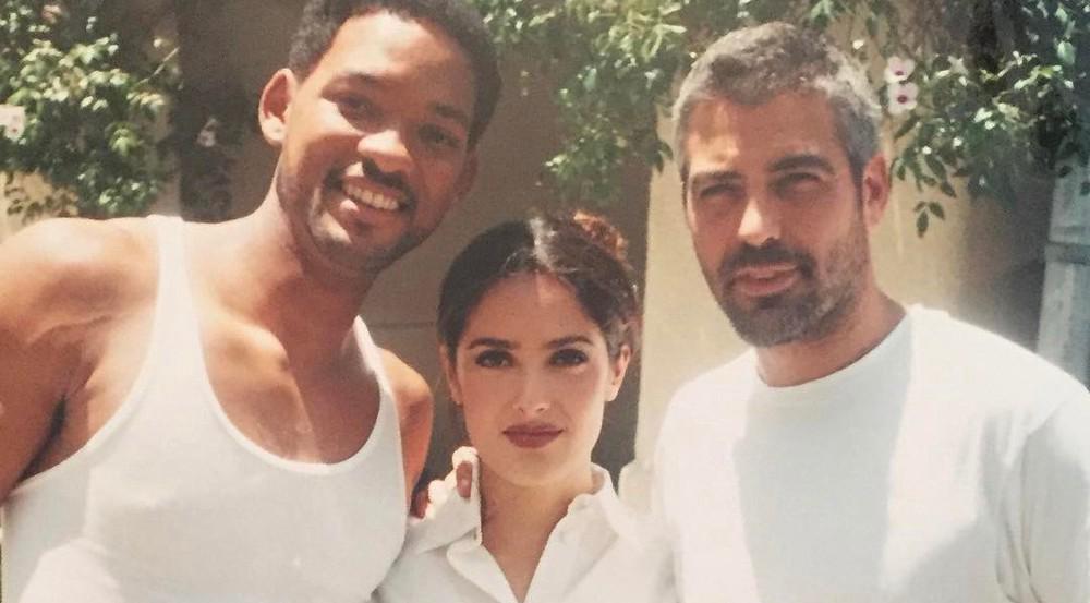 Salma Hayek, George Clooney und Will Smith