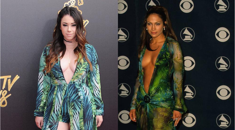Jillian Rose Reed (l.) vs. Jennifer Lopez - wem steht's besser?
