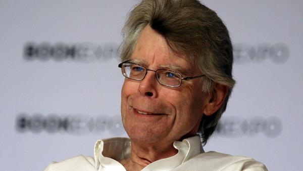 Stephen King bei einer Veranstaltung in New York