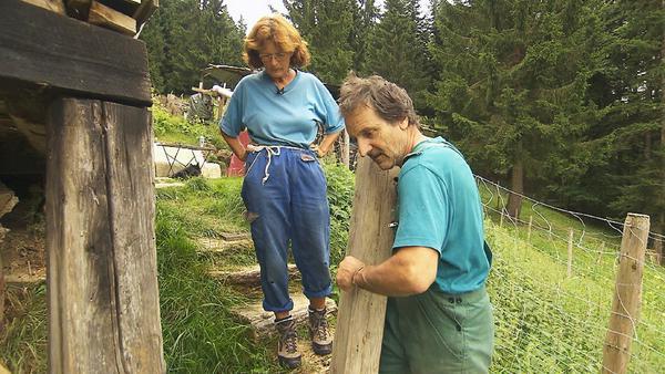 Eine tragende Säule: André hat das Hofleben im Griff - wenn es nicht um Gasflaschen geht
