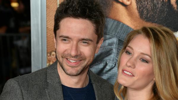 Topher Grace und Ashley Hinshaw sind stolze Eltern geworden