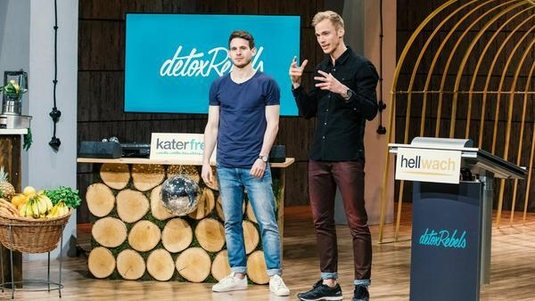 """Machen trotz Niederlage in """"DHDL"""" weiter: Martin Bressem und Jonas Höhn von """"detoxRebels"""""""