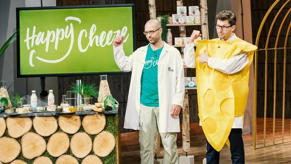 """""""Happy Cheese"""" macht die Gründer Dr. Mudar Mannah und Rocky Wüst glücklich"""