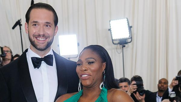 Feier mit vielen Stars: Serena Williams hat geheiratet