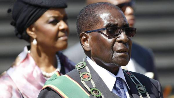 Robert Mugabe steht seit Kurzem unter Hausarrest - das Militär hat in Simbabwe die Macht übernommen