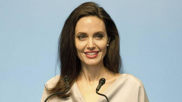 Angelina Jolie spricht vor den Vereinten Nationen