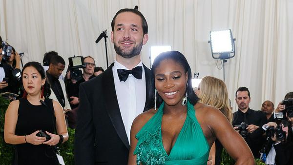 Sind schon bald ein Ehepaar: Alexis Ohanian und Serena Williams