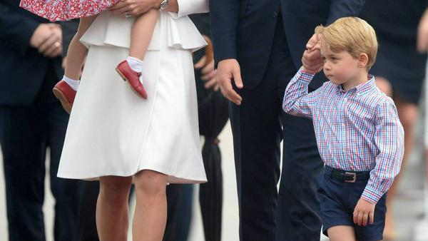 Besonders Prinz George soll sich gut mit den Kindern von Roger Federer verstehen