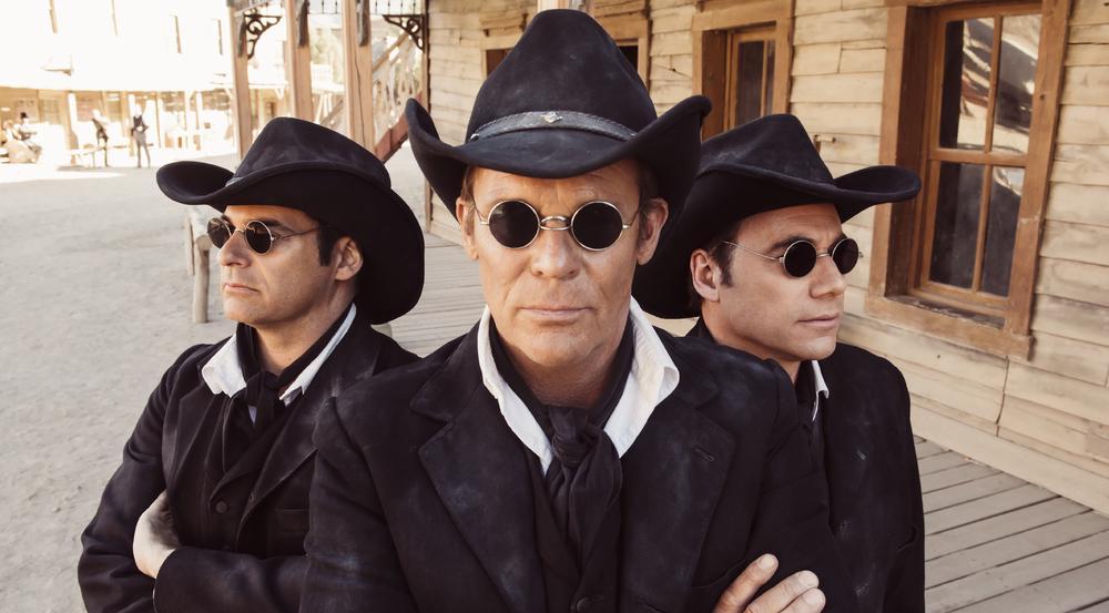 """Rick Kavanian (v.l.), Christian Tramitz und Michael """"Bully"""" Herbig in """"Bullyparade - Der Film"""""""
