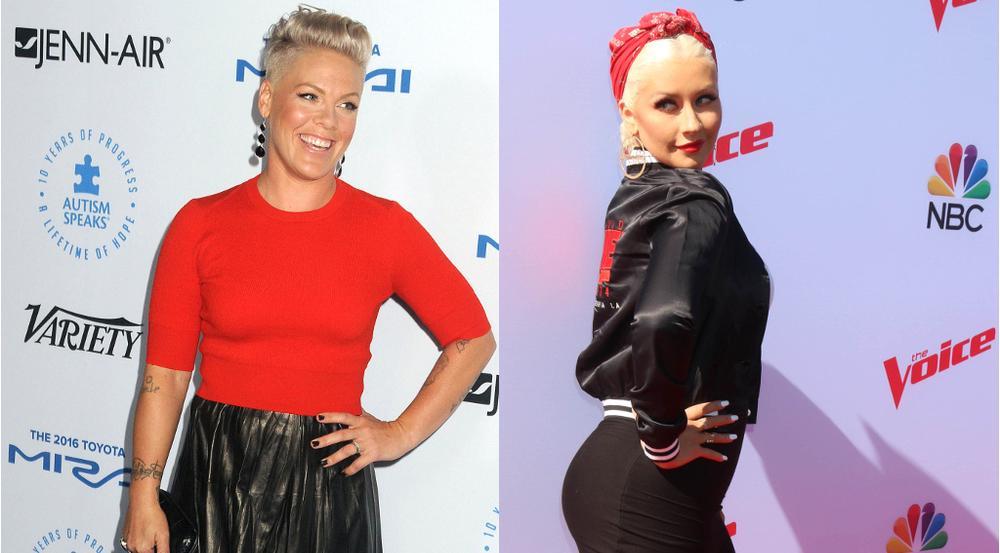 Pink und Christina Aguilera haben ihren jahrelangen Streit beigelegt