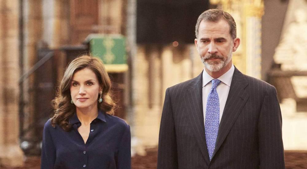 Das spanische Königspaar ist schockiert vom Anschlag - aber lässt sich nicht einschüchtern