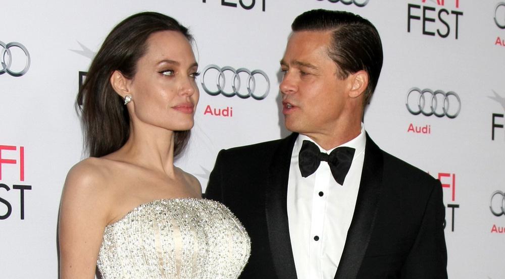 Bei Angelina Jolie und Brad Pitt flatterte ein Klage in die nun getrennten Briefkästen