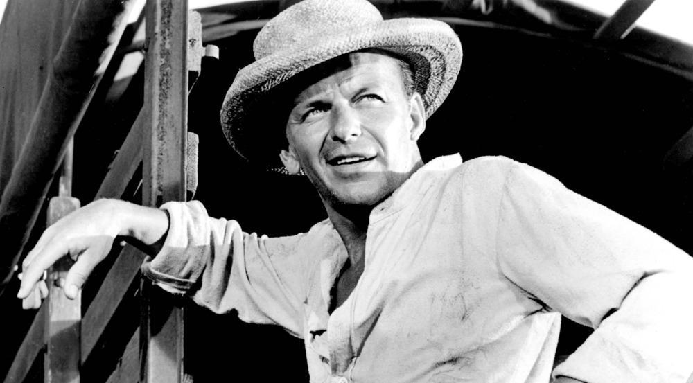 """Frank Sinatra erhielt den Oscar als """"Bester Nebendarsteller"""" für den Film """"Verdammt in alle Ewigkeit"""""""