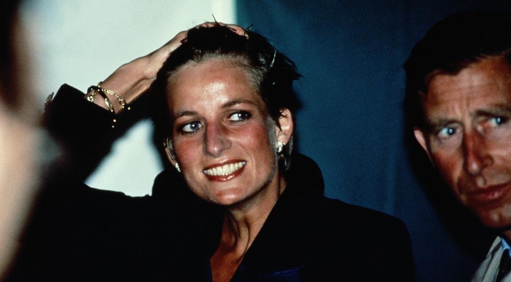 So behalten Fans Prinzessin Diana in Erinnerung: gut gelaunt nach einem Pressetermin.