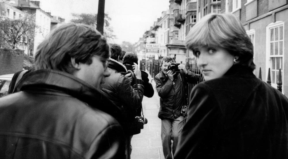 Von den Paparazzi verfolgt: Prinzessin Diana