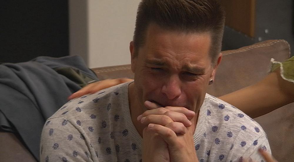 Ist von der Nachricht seiner Familie zu Tränen gerührt: Eloy de Jong