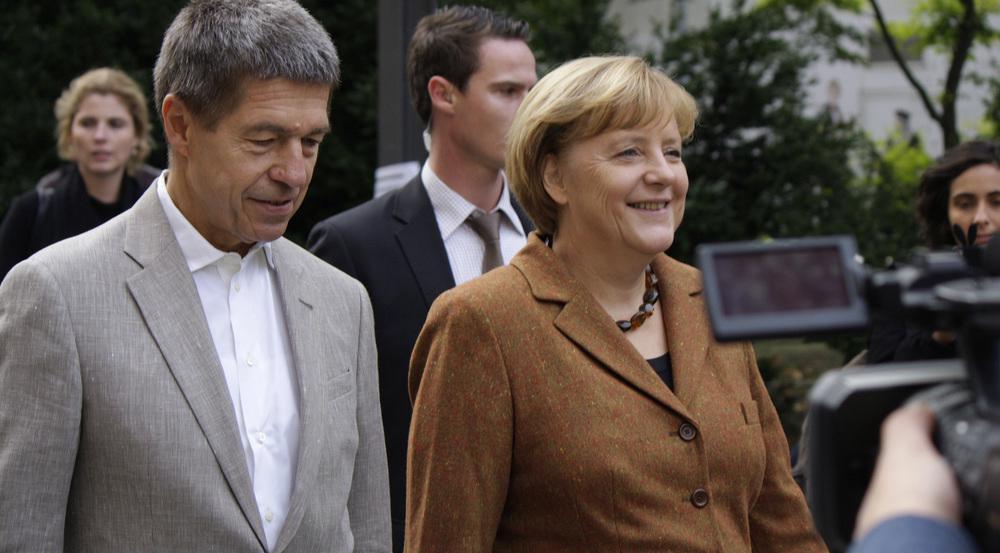 Joachim Sauer und Angela Merkel sind seit 1998 verheiratet
