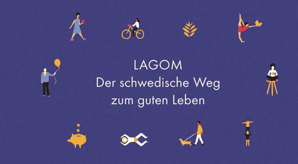 """Der neue Lifestyle-Ratgeber """"In der Mitte liegt das Glück"""" beschäftigt sich mit dem schwedischen Weg zum guten Leben"""