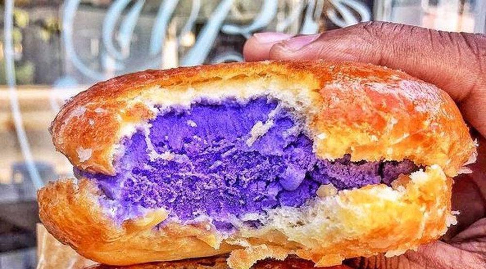 Eis wird neuerdings in süßen Burgerbrötchen serviert - lecker!