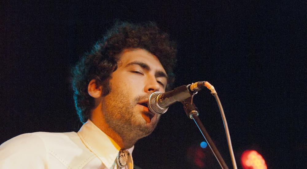 Frontmann Miles Michaud von der Band Allah-Las