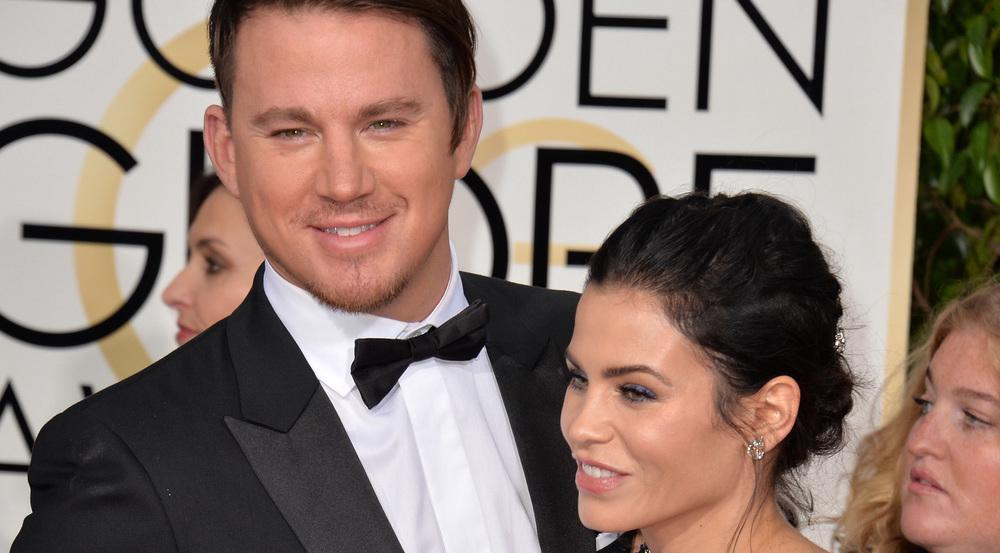 Sind glücklich miteinander verheiratet: Channing Tatum und seine Frau Jenna