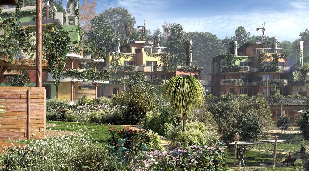 Grünes Feriendorf: Villages Nature Paris