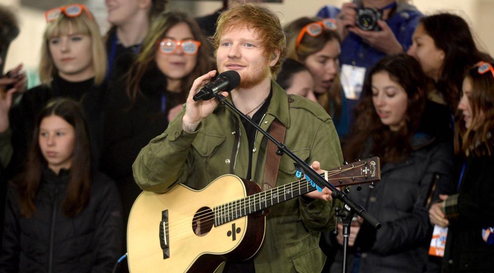 Ed Sheeran live zu erleben - für seine Fans ein großer Traum!