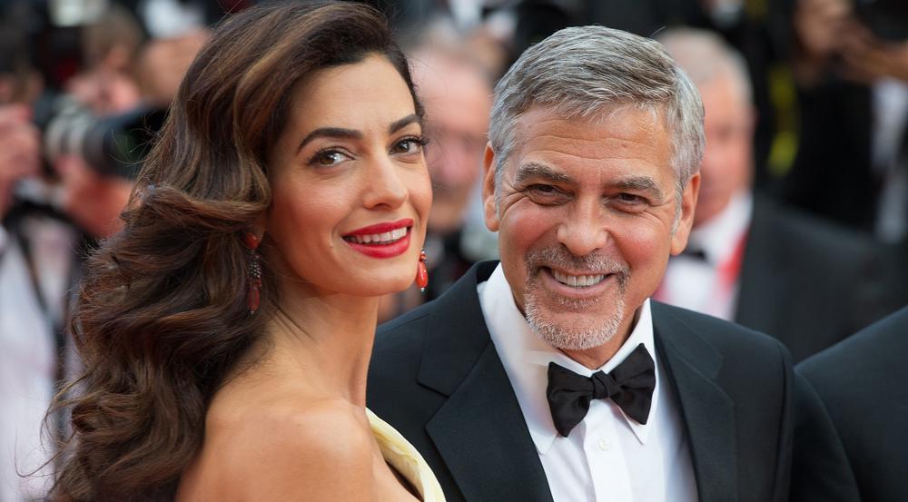 Amal und George Clooney sind seit Juni Eltern