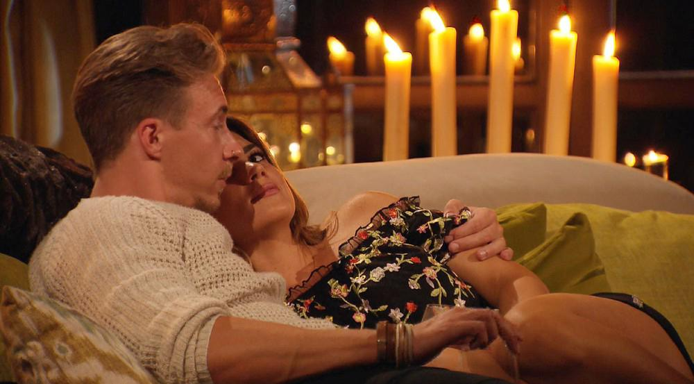 Es knistert zwischen David und Jessica bei ihrem gemeinsamen Date