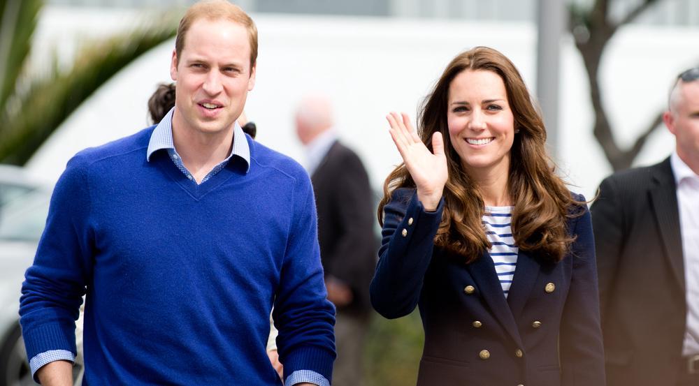 William und Kate kommen für einen dreitägigen Aufenthalt nach Deutschland