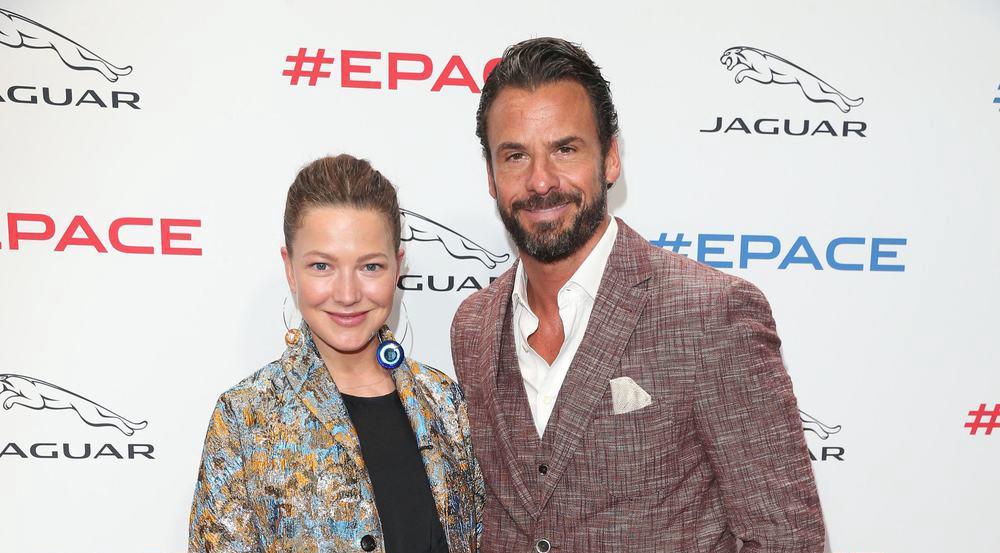 Zeigten sich begeistert von dem Event in London: Hannah Herzsprung und Stephan Luca