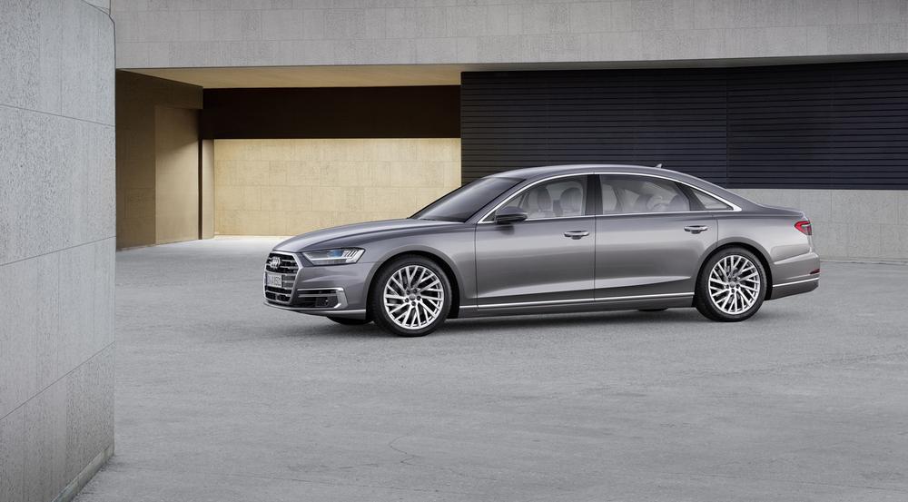 Intelligente Luxuslimousine: der neue Audi A8