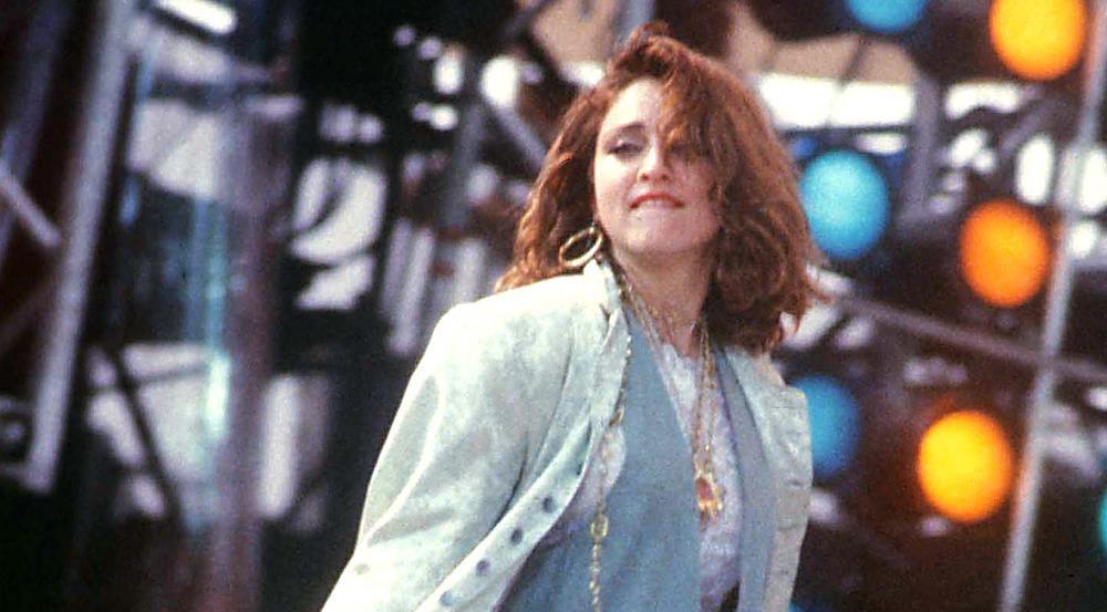 Madonna 1985 bei einem