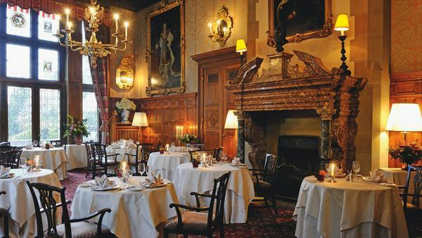 Nobel: das Schlossrestaurant im Schlosshotel Kronberg