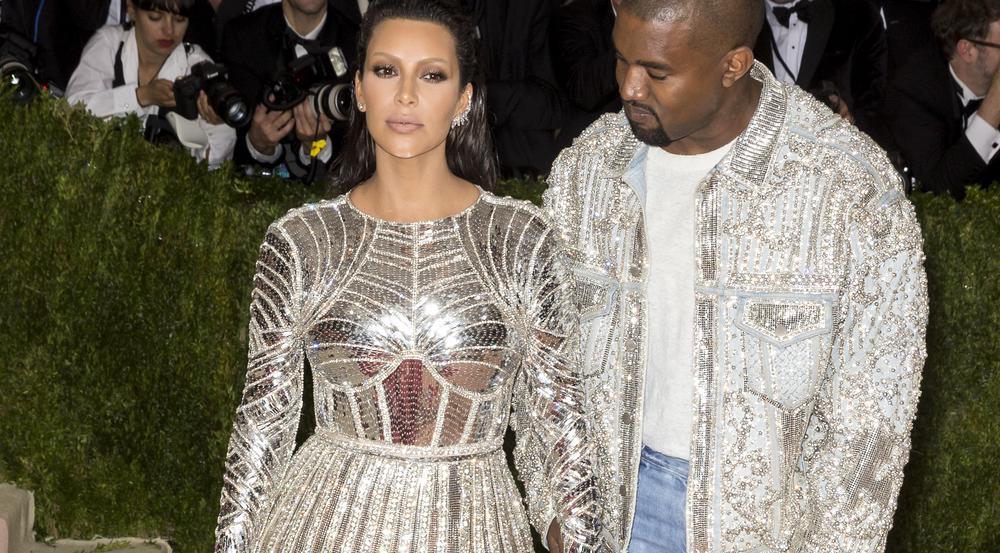 Kim Kardashian und Kanye West auf der Met Gala 2016