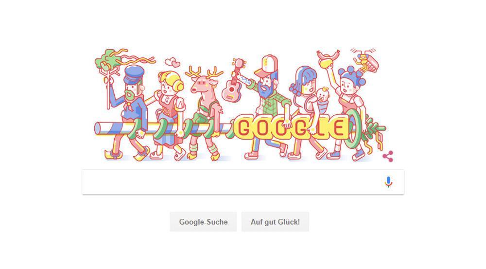 Das neueste Google Doodle stammt von Christoph Hoppenbrock