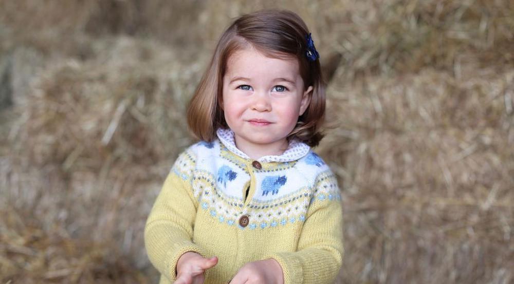 Hätten Sie die kleine Charlotte sofort wiedererkannt?