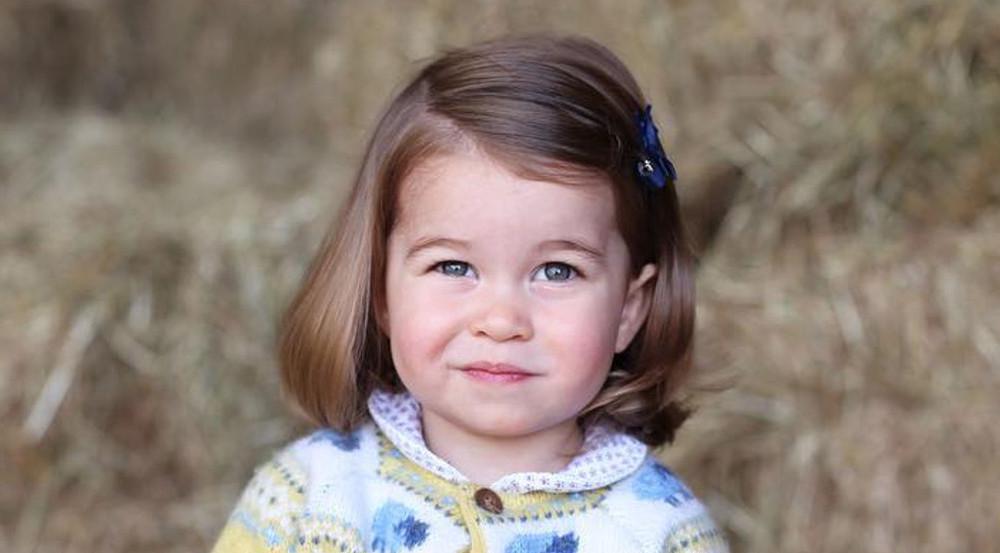 Das offizielle Foto zum 2. Geburtstag: Prinzessin Charlotte verzaubert die royalen Fans