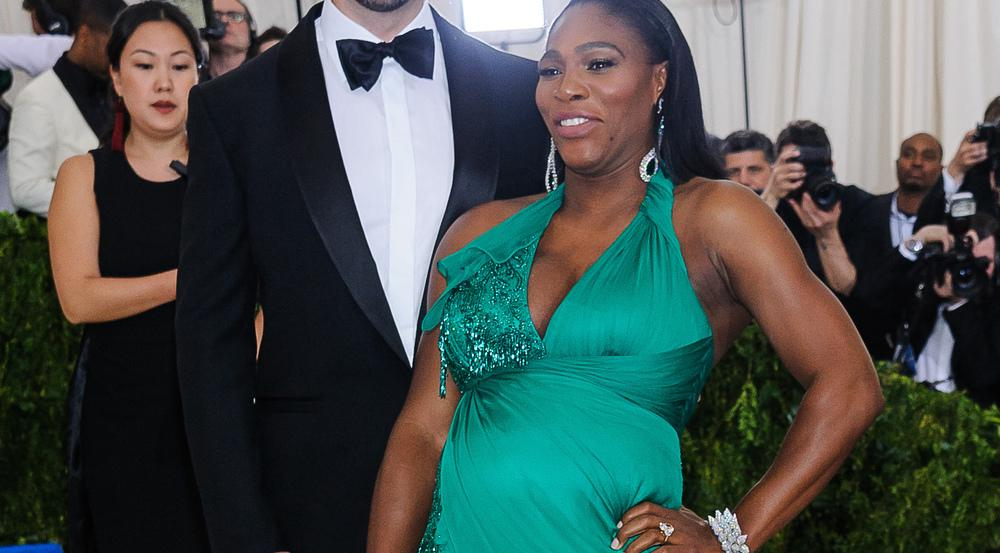 Alexis Ohanian und Serena Williams auf der Met Gala