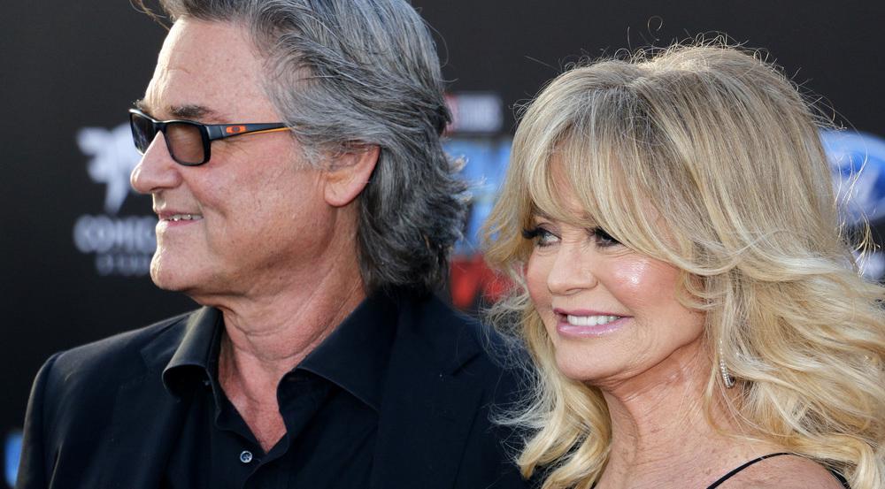 Kurt Russell und Goldie Hawn bei einem gemeinsamen Auftritt in Los Angeles