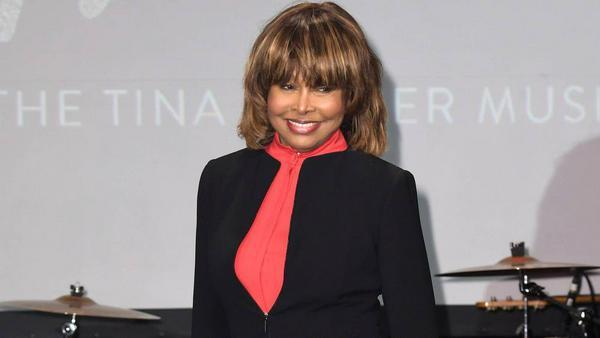 Tina Turner bei ihrem Auftritt in London